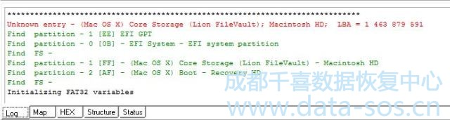 使用PC-3000 Data Extractor解密Apple FileVault实例 6