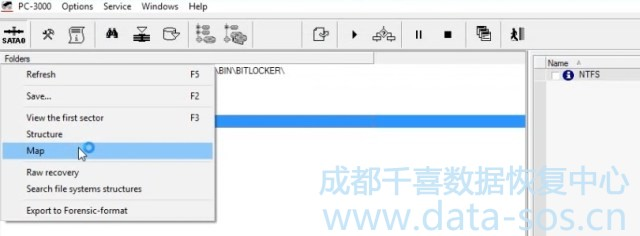 使用PC-3000 Data Extractor解密Windows Bitlocker, Apple FileVault分区并恢复数据 2