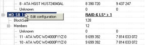 使用PC-3000 DE. Data Extractor RAID Edition恢复BtrFS文件系统RAID的数据 6